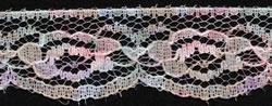 "1"" Poly Raschel Lace-Multi Color"