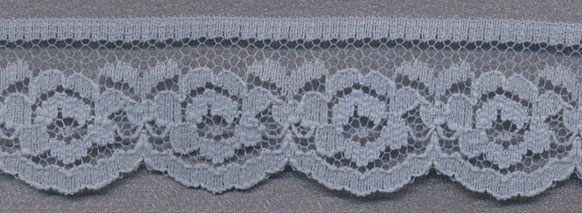 "1"" Flat Lace-Antique Blue"