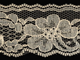 "1.875"" Flat Raschel Lace-Natural"