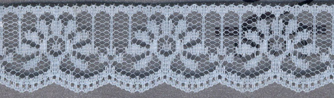 "1.125"" Flat Lace-Light Blue"