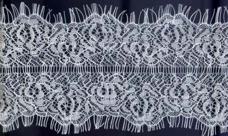 "3.25"" Galloon Lace With Ladder Center-White"