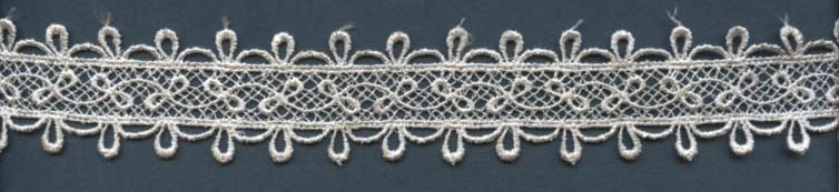 "1 1/2"" Rayon Venise Galloon Lace-Ivory"