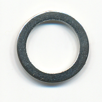 "3/8"" Brass ""O"" Ring-Nickel"