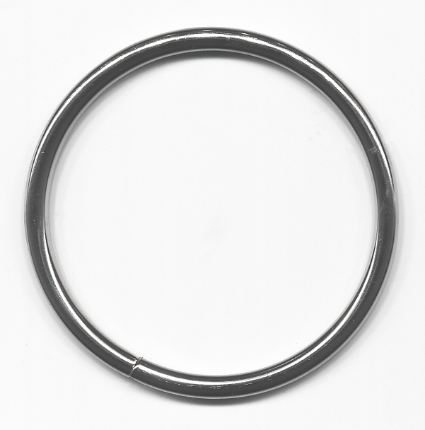 "1.5"" Metal ""O"" Ring-Nickel"