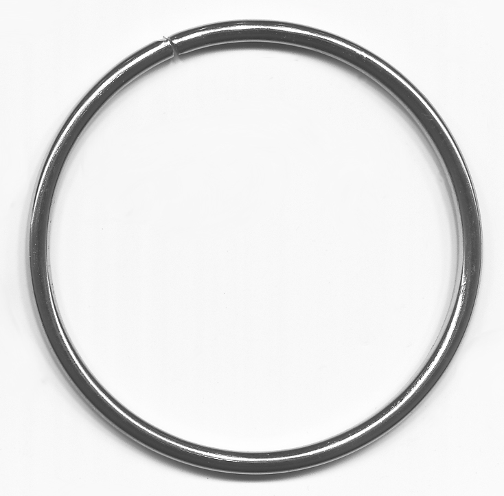 "2"" Metal ""O"" Ring-Nickel"