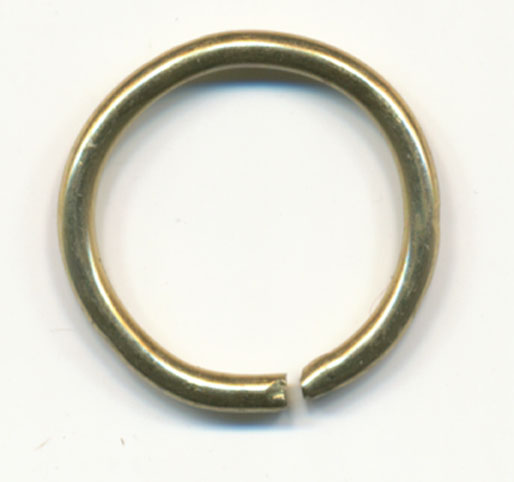 "1/2"" Metal ""O"" Rings-Gold"