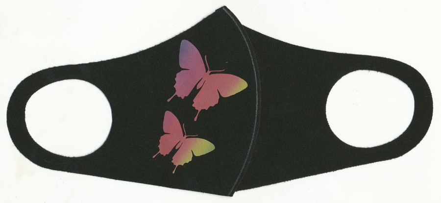 "<font color=""red"">IN STOCK</font><br>Fashion Face Mask-Butterflies"