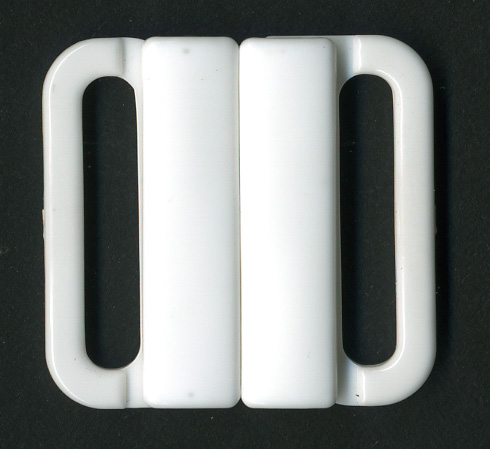"1"" Interlock Closure Clasp-White"