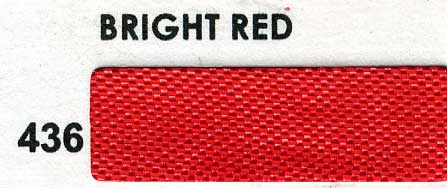 "1/2"" Seam Binding-Bright Red"