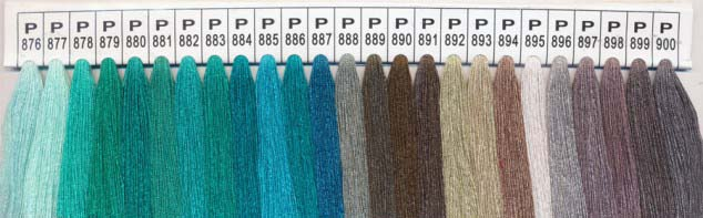 Color Chart 12 - Please specify the color number