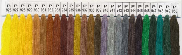 Color Chart 14 - Please specify the color number
