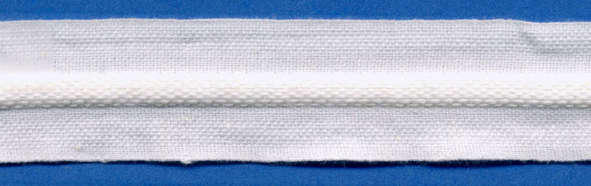 "1"" ""Humptape""-White<br>$0.25 per yard, see Special Pricing Tab"