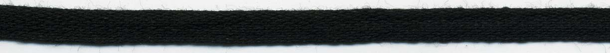 "1/4"" Cotton Hang Tape Black"