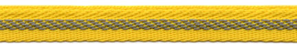 "3/8"" Wide Poly Reflector Stripe-Yellow/Silver Combo"