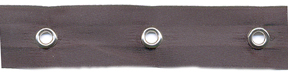 "5/8"" Width Satin Ribbon With 1.5"" Spaced Eyelets"
