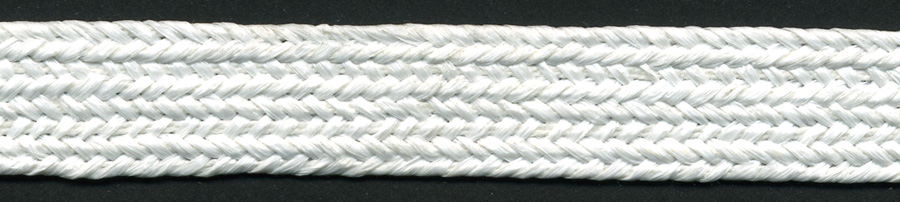 "7/16"" Poly Raffia Tape-White<br>see Special Pricing Tab"
