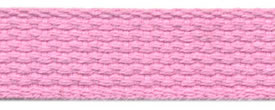 "1"" Cotton Webbing-Pink"