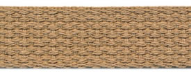 "1"" Cotton Webbing-Beige"