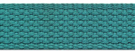 "1"" Cotton Webbing-Lt. Teal"