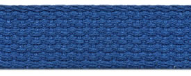 "1"" Cotton Webbing-Royal"