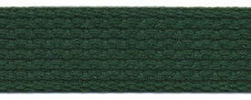 "1"" Cotton Webbing-Hunter"