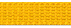 "1"" Cotton Webbing-Gold"
