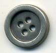 24L 4 Hole Metal Button-Antique Nickel - Metal Buttons