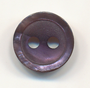16L Basic 2-Hole Button-Purple - Plastic Buttons