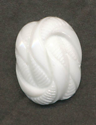 16L Rope Shank Button-White - Plastic Buttons